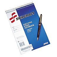SKILCRAFT Gregg Ruled Stenographer Notebook