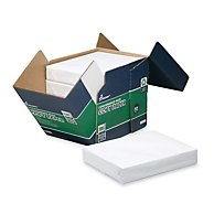 COPY PAPER, 92 BRIGHT, LETTER, WHITE, 500 SHEETS/REAM, 5 REAMS/BOX