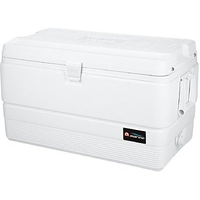 DWOS 72 QUART WHITE MARINE ICE CHEST
