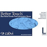 DHS/TSA-Approved Powder-Free Nitrile Exam Glove, Large