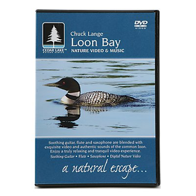 Cedar Lake Nature Series: Loon Bay DVD. Let the magical sound of the loon put your mind at rest.