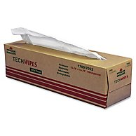 Techwipes Biodegradable Electronics Tissue, 3-Ply, 90/box
