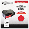 Compatible 767-1 Postage Meter Ink, Red