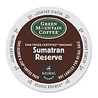 Fair Trade Organic Sumatran Extra Bold Coffee K-Cups, 96/carton