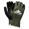 Ks-5 Latex Dip Gloves, 13 Gauge, Green Black, Medium
