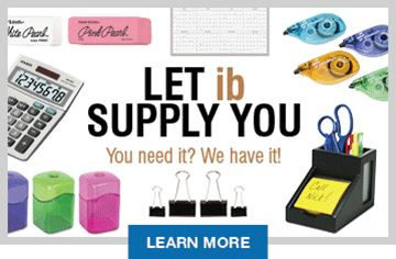 Let IB Supply You