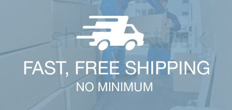 Fast, Free Shipping