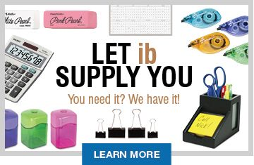 Let ib Supply You!